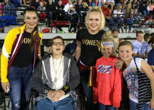 Everyone stopped to say hi and take a picture with Britton Shipp who was the start of the show for the night at the 30th annual Utah Summer Games Opening, Southern Utah University Eccles Colliseum, Cedar City, Utah, June 11, 2015 | Photo by Carin Miller, St. George News