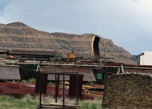 Garfield County is home to communities steeped in heritage and history that officials say are on the verge of collapse, Closed saw mill that used to provide jobs, Escalante, Utah, June 15, 2015 | Photo by Carin Miller, St. George News