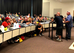 Utah Summer Games Arm Wrestling Tournamanet brings competitors from all over, Southern Utah University J.L. Sorenson Physical Education Building, Cedar City, Utah, June 27, 2015 | Photo by Carin Miller, St. George News