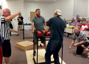 Utah Summer Games Arm Wrestling Tournamanet brings competitors from all over, Southern Utah University J.L. SorensonPhysical Education Building, Cedar City, Utah, June 27, 2015 | Photo by Carin Miller, St. George News