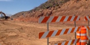 Indian Hills Drive is being  straightened and widened to accommodate bikers and runners, and is expected to be completed in mid-July, St. George, Utah, March 23, 2015 | Photo by Julie Applegate, St. George News