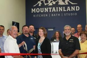 Mountainland Kitchen and Bath Studio ribbon cutting, St. George, Utah, June 26, 2015 | Photo by and courtesy of Susi Lafaele