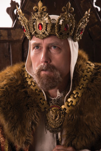 King Henry the IV wearing his crown and kingly robe, Cedar City, Utah, undated | Photo courtesy of Utah Shakespeare Festival, St. George News