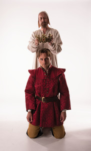Crown is placed on an actors head, Cedar City, Utah, undated | Photo courtesy of Utah Shakespeare Festival, St. George News