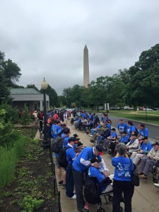 Utah Honor Flight tours the District of Columbia, June 5, 2015 | Photo courtesy of Utah Honor Flight, St. George News