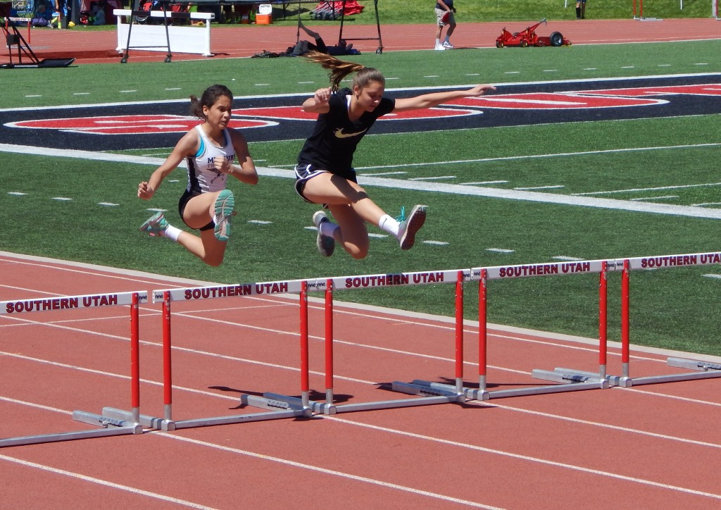 Track and field at the Utah Summer Games, Cedar City, Utah, June 19, 2015.   Photo by Shelly Griffin, St. George News