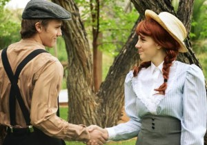 "Cast members of ""Anne of Green Gables"" at Brigham's Playhouse, Washington, Utah, date not specified 