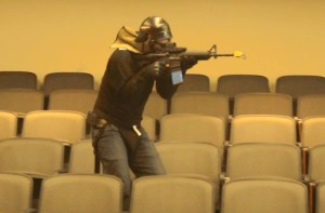 Movie theater simulation training at the St. George Police Department active shooter training, St. George, Utah, June 17, 2015 | Photo by Leanna Bergeron, St. George News