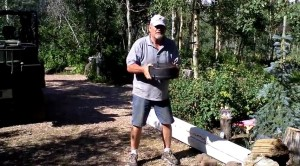 Bruce Tracy demonstrates Dutch Oven techniques, August 20, 1011 | YouTube Screenshot