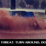 Flooding on Red Hills Parkway, St. George, Utah, Sept. 9, 2014   Photo courtesy of Eric Dodge, for St. George News