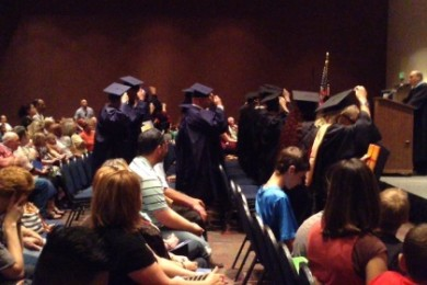 Commencement exercises for the 2015 class of Stevens-Henager College St. George Campus, St. George, Utah, June 2, 2015 | Photo by Hollie Reina, St. George News