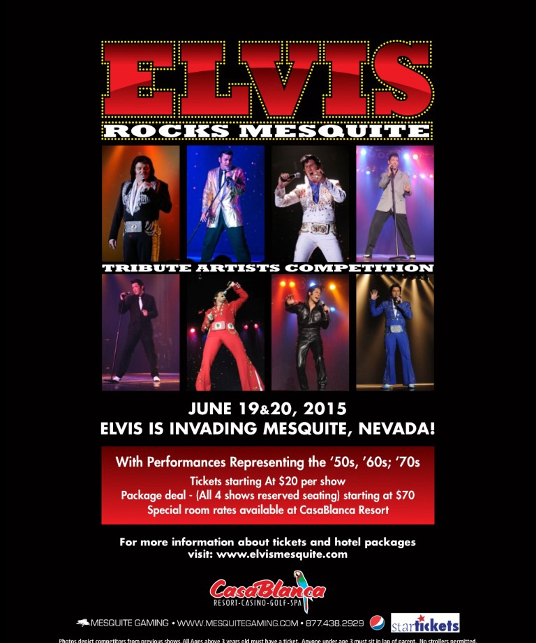 """Elvis Rocks Mesquite"" tribute artists competition, location and date not specified 