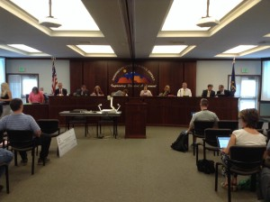 The monthly meeting of the Washington County School District Board of Education is held at the district office building, St. George, Utah, June 16, 2015 | Photo by Hollie Reina, St. George News