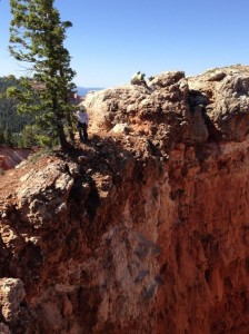 Kane County Sheriff's Search and Rescue at the scene of a fatal fall, Cedar Mountain, Kane County, Utah, June 15, 2015 | Photo courtesy of Kane County Emergency Services, St. George News