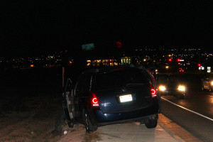 A medical episode caused a collision on River Road, St. George, Utah, June 11, 2015 | Photo by Nataly Burdick, St. George News