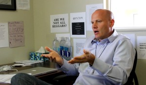 Homeowner and Airbnb host Stephen Palmer says he should be able to host travelers in his home and is engaged in discussion with city officials in an attempt to change city code that currently disallows short-term rentals in residential areas, St. George, Utah, June 12, 2015 | Photo by St. George News