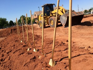 At the groundbreaking for the new Washington City police station on 100 East, Washington City, Utah, June 18, 2015 | Photo by Mori Kessler, St. George News