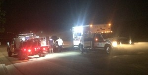 Washington City Firefighters and Gold Cross personnel following the conclusion of a late night operation involving the rescue of an injured hiker, Washington City, Utah, June 25, 2015 | Photo by Mori Kessler, St. George News