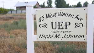 A sign marking UEP property, Colorado City, Arizona, July 7, 2015 | Photo by Nataly Burdick, St. George News