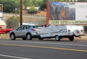 A distracted driving accident results in no injuries, Washington, Utah, July 8, 2015 | Photo by Ric Wayman, St. George News