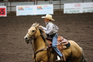 Blake Bowler, Team Roping at Nationals, Des Moines, Iowa, date unspecified | Photo courtesy of Melinda Bowler, St. George News