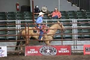 Tj Bowler, Team Roping at Nationals, Des Moines, Iowa, date unspecified | Photo courtesy of Melinda Bowler, St. George News