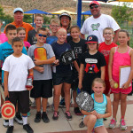 City of St. George youth pickleball,  St. George, Utah, July 30, 2015, | Photo by Robert Hoppie, ASPpix.com, St. George News