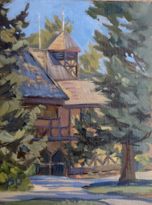 Art depicting the Adams Shakespearean Theatre | Image courtesy of the Utah Shakespeare Festival, St. George News