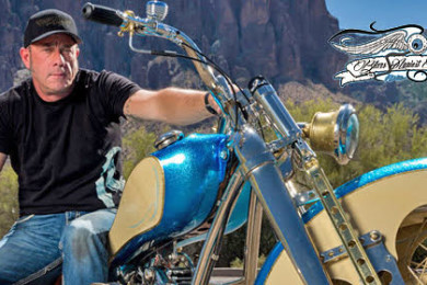 Celebrity bike builders roll into casablanca for free concert meet overlaid image celebrity bike builder and reality television personality len edmondson will participate in the ride to the 75th event to raise money for m4hsunfo