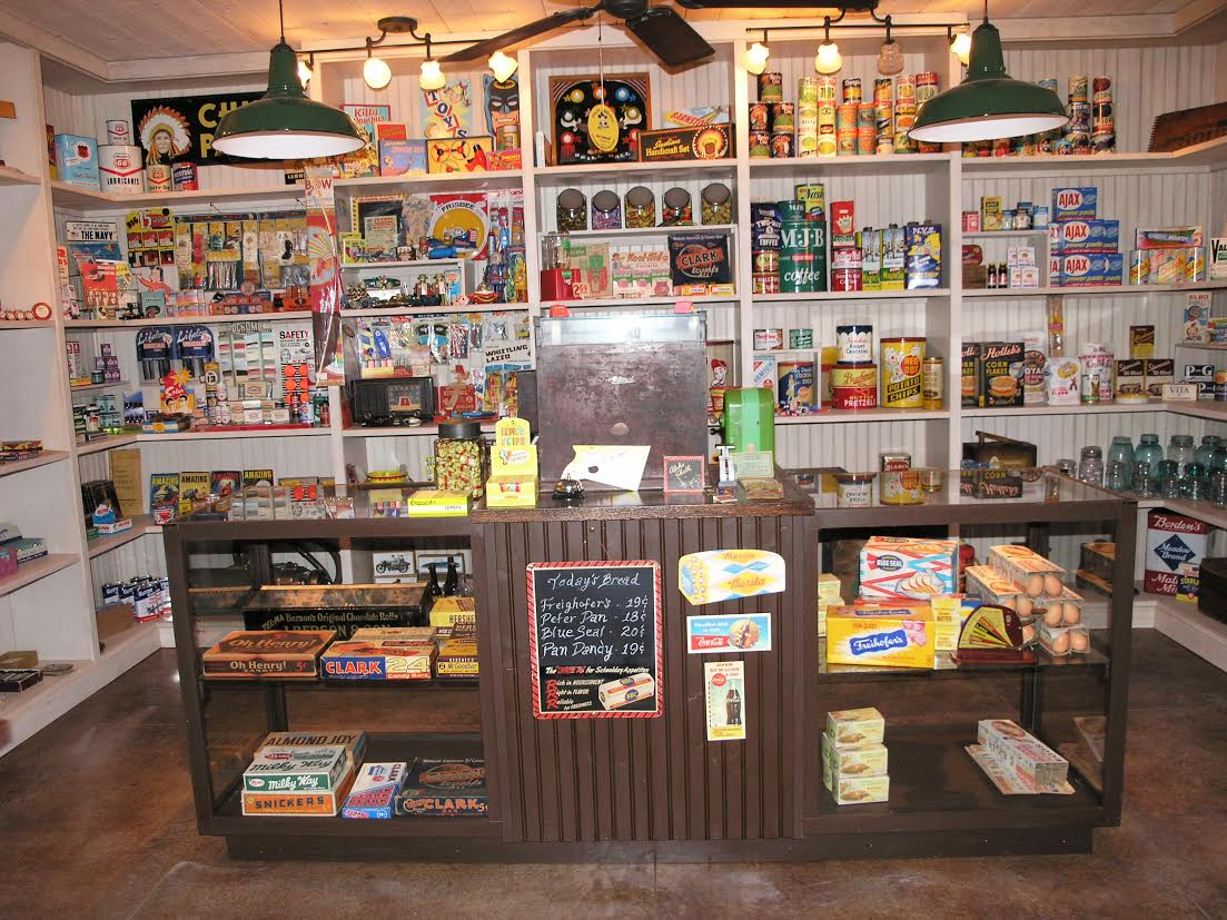 Collector Contractor Creates Vintage Old General Store In