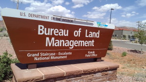 Bureau of Land Management office in Kanab, Utah, April 14, 2015 | Photo by Cami Cox Jim, St. George News