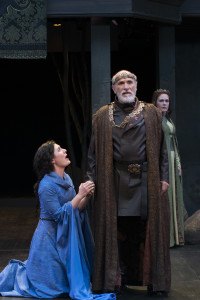Utah Shakespeare Festival production of King Lear, Adam's Shakespearean Theatre, Cedar City, Utah, July, 2015 | Photo courtesy of USF, St. George News