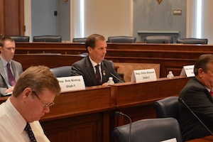 Rep. Chris Stewart speaks at Federal Lands Action Group, 1300 Longworth House Office Building, District of Columbia, July 28, 2015 | Photo courtesy of Rep. Chris Stewart, St. George News