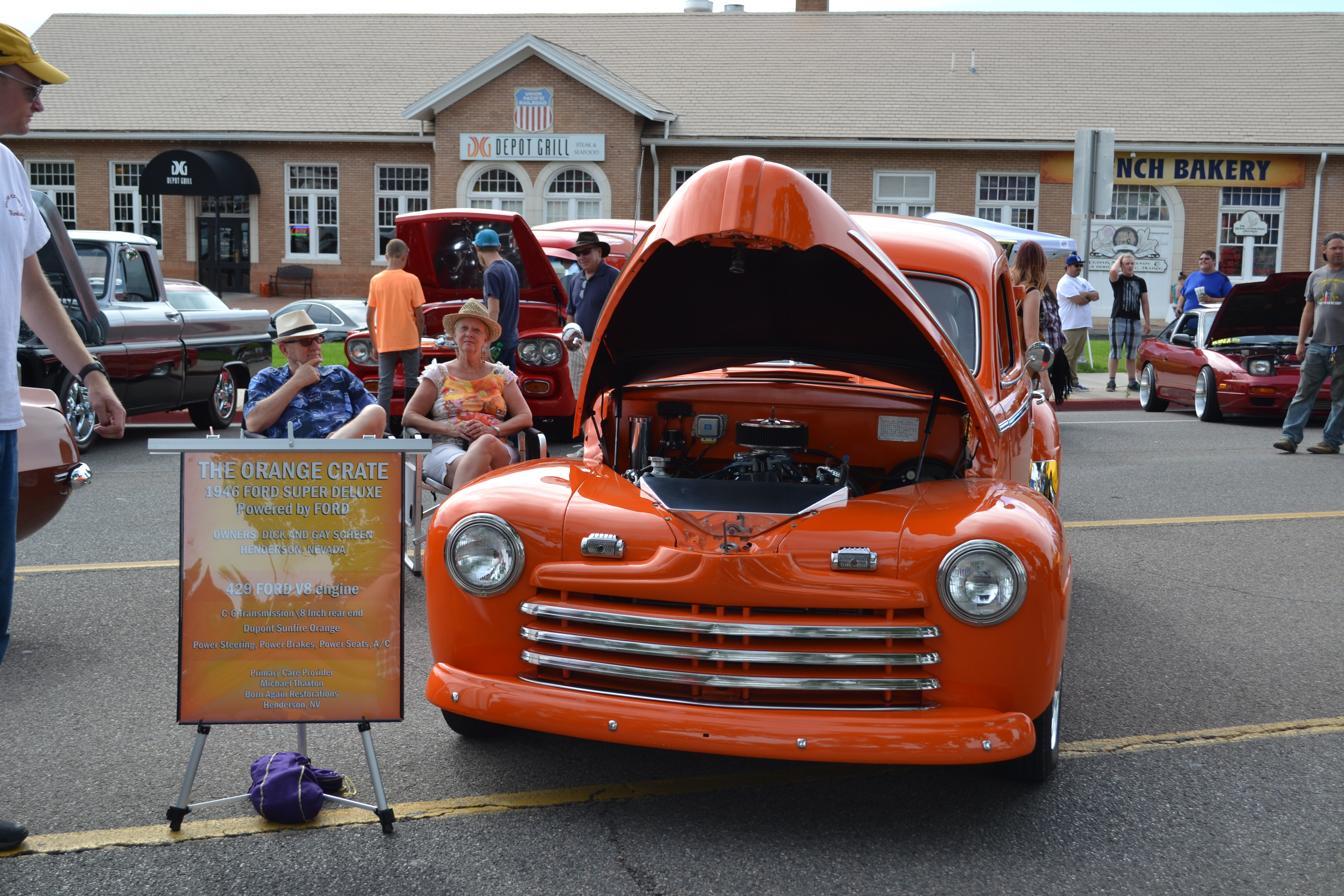 new old cars mix at july jamboree on main street ccnews photo gallery st george news. Black Bedroom Furniture Sets. Home Design Ideas