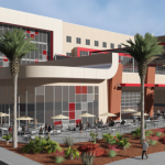 A concept rendering by MRW Design Associates showing what Dixie State University contemplates for a Human Performance, Student Wellness Center. DSU notes that this is not a design rendering.  July 2015 | Image courtesy of MRW Design Associates, St. George News
