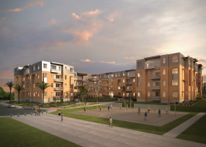 Image of new student housing to be constructed on Dixie State University, St. George, Utah   Image courtesy of Dixie State University, St. George News