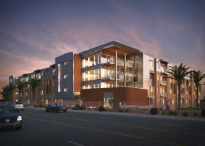 Image of new student housing to be constructed on Dixie State University, St. George, Utah | Image courtesy of Dixie State University, St. George News