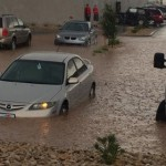 Flooding in St. George, Utah, July 3, 2015 | Photo courtesy of Jenny Bracken, St. George News