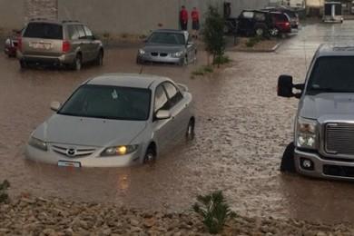 Flooding in St. George, Utah, July 3, 2015 | Photo courtesy of Jenny Bracken, St. George News