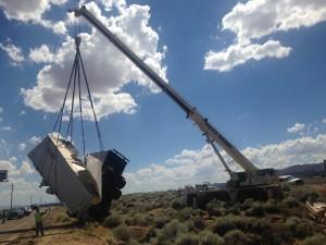 Semitruck accident on Interstate 15, Washington County, Utah, July 22, 2015   Photo by Sheldon Demke, St. George News