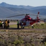 One man is dead and one woman was transported to the hospital via Life Flight after a rollover on northbound Interstate 15 near milepost 88, Iron County, Utah, July 28, 2015 | Photo by Corey McNeil, St. George News