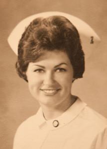 Judy graduating from nursing school August 1967