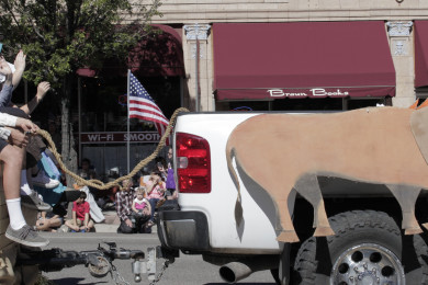 Cedar City Pioneer Day Parade brought hundreds out to celebrate those who sacrificed to forge a new land years ago, Main Street, Cedar City, Utah, July 24, 2015   Photo by Carin Miller, St. George News