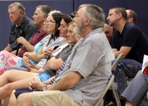 Enoch City candidates for Mayor and City Council took time Wednesday night to meet with the public and answer questions, Three Peaks Elementary, Iron County, Utah, July 29, 2015 | Photo by Carin Miller, St. George News