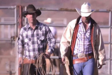 Grady Sinclair and Paul Ford, Washington County Fairgrounds, July 15, 2015 | Photo by Dan Fowlks, St. George News