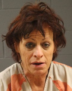 Dominique Caprise Ribarich, of St. George, Utah, booking photo posted July 4, 2015   Photo courtesy of the Washington County Sheriff's Office, St. George News