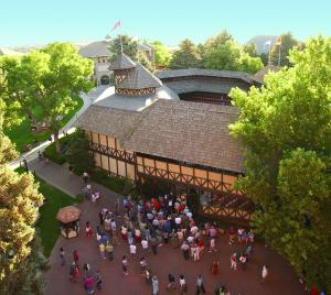 Historic Adams Shakespearean Theatre to close its doors after the 2015 season, Cedar City, Utah, undated   Photo courtesy of the Utah Shakespeare Festival, St. George News