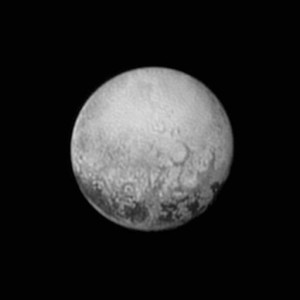 This image provided by NASA shows Pluto from the New Horizons spacecraft. On Tuesday, July 14, NASA's New Horizons spacecraft will come closest to Pluto. New Horizons has traveled 3 billion miles over 9½ years to get to the historic point,  July 11, 2015   Photo by NASA/JHUAPL/SWRI via AP, St. George News