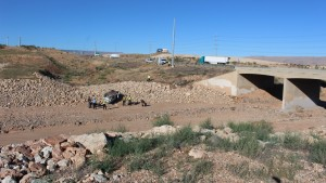 Drowsy driving is suspected to be a factor in a rollover on northbound I-15 near Exit 2 in St. George, Utah, July 26, 2015   Photo by Mori Kessler, St. George News