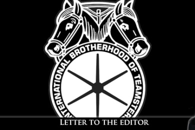 Teamsters logo | Image courtesy of Spencer Hogue, St. George News